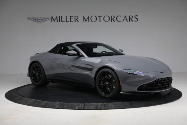 New 2021 Aston Martin Vantage Roadster for sale $180,286 at Bugatti of Greenwich in Greenwich CT 06830 26