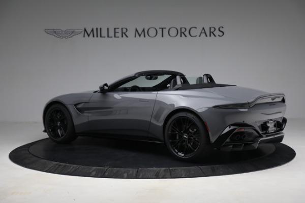New 2021 Aston Martin Vantage Roadster for sale $180,286 at Bugatti of Greenwich in Greenwich CT 06830 3