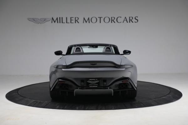 New 2021 Aston Martin Vantage Roadster for sale $180,286 at Bugatti of Greenwich in Greenwich CT 06830 5