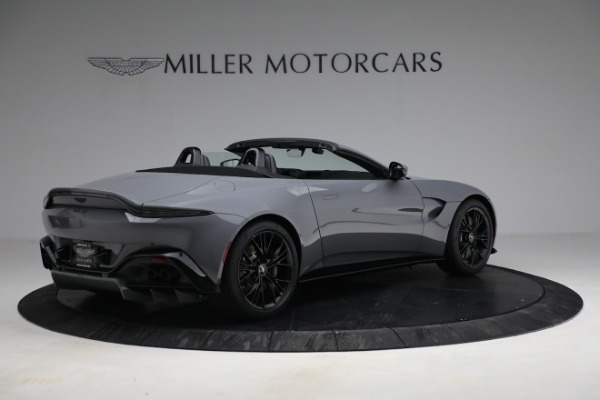 New 2021 Aston Martin Vantage Roadster for sale $180,286 at Bugatti of Greenwich in Greenwich CT 06830 7