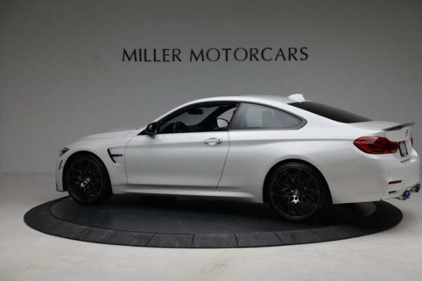 Used 2019 BMW M4 Competition for sale Call for price at Bugatti of Greenwich in Greenwich CT 06830 3