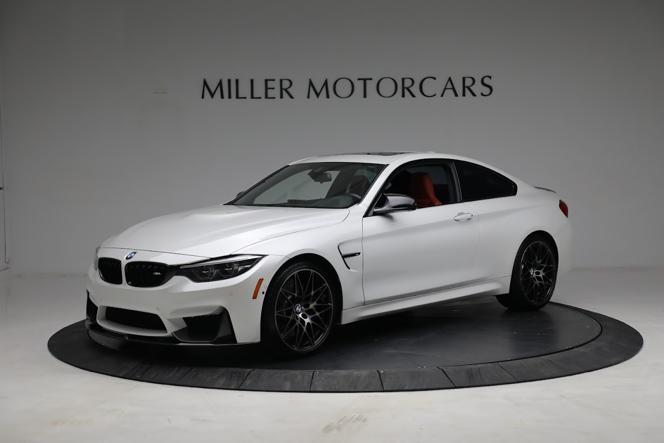Used 2019 BMW M4 Competition for sale Call for price at Bugatti of Greenwich in Greenwich CT 06830 1