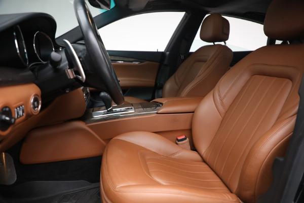 Used 2016 Maserati Quattroporte S Q4 for sale $46,900 at Bugatti of Greenwich in Greenwich CT 06830 14