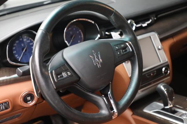 Used 2016 Maserati Quattroporte S Q4 for sale $46,900 at Bugatti of Greenwich in Greenwich CT 06830 17