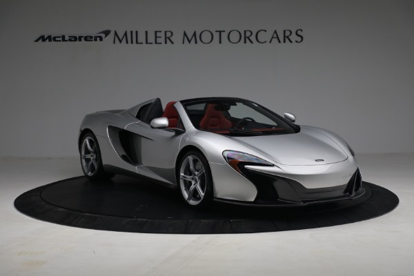 Used 2015 McLaren 650S Spider for sale $179,990 at Bugatti of Greenwich in Greenwich CT 06830 10