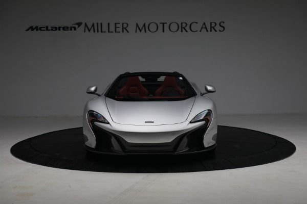 Used 2015 McLaren 650S Spider for sale $179,990 at Bugatti of Greenwich in Greenwich CT 06830 11