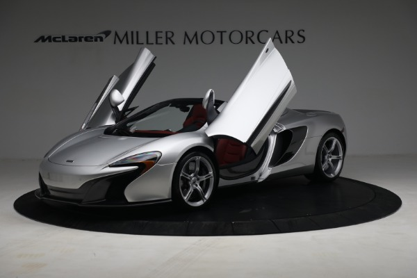 Used 2015 McLaren 650S Spider for sale $179,990 at Bugatti of Greenwich in Greenwich CT 06830 13