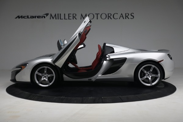 Used 2015 McLaren 650S Spider for sale $179,990 at Bugatti of Greenwich in Greenwich CT 06830 14
