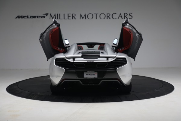 Used 2015 McLaren 650S Spider for sale $179,990 at Bugatti of Greenwich in Greenwich CT 06830 16