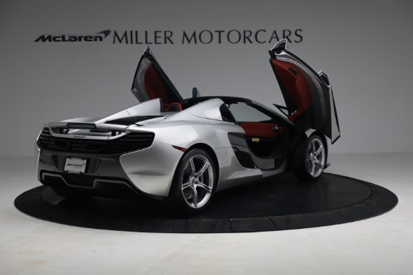 Used 2015 McLaren 650S Spider for sale $179,990 at Bugatti of Greenwich in Greenwich CT 06830 17