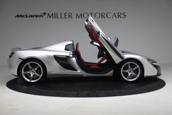 Used 2015 McLaren 650S Spider for sale $179,990 at Bugatti of Greenwich in Greenwich CT 06830 18
