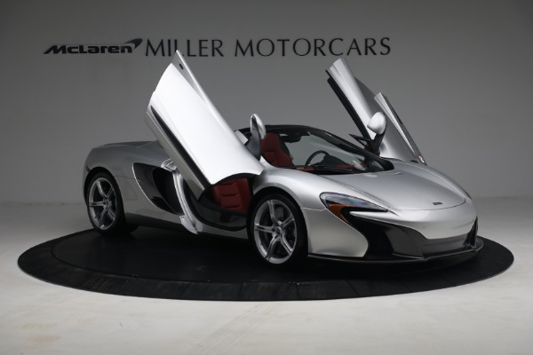 Used 2015 McLaren 650S Spider for sale $179,990 at Bugatti of Greenwich in Greenwich CT 06830 19