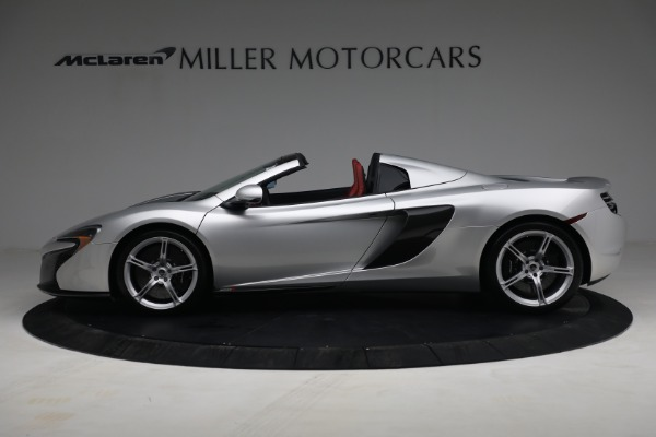 Used 2015 McLaren 650S Spider for sale $179,990 at Bugatti of Greenwich in Greenwich CT 06830 2