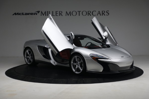 Used 2015 McLaren 650S Spider for sale $179,990 at Bugatti of Greenwich in Greenwich CT 06830 20