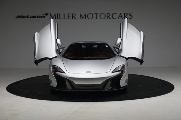 Used 2015 McLaren 650S Spider for sale $179,990 at Bugatti of Greenwich in Greenwich CT 06830 21