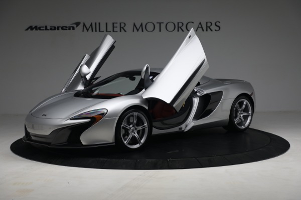 Used 2015 McLaren 650S Spider for sale $179,990 at Bugatti of Greenwich in Greenwich CT 06830 22