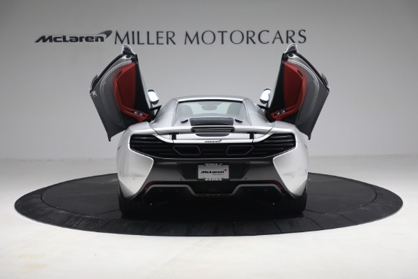 Used 2015 McLaren 650S Spider for sale $179,990 at Bugatti of Greenwich in Greenwich CT 06830 24