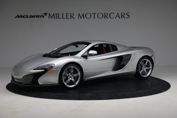 Used 2015 McLaren 650S Spider for sale $179,990 at Bugatti of Greenwich in Greenwich CT 06830 26