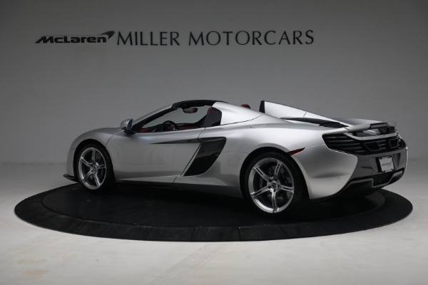 Used 2015 McLaren 650S Spider for sale $179,990 at Bugatti of Greenwich in Greenwich CT 06830 3