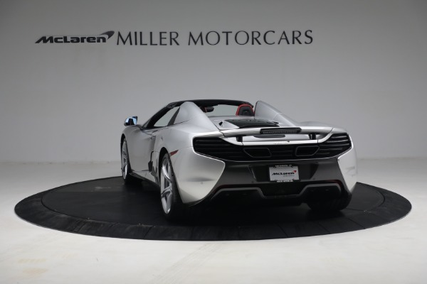 Used 2015 McLaren 650S Spider for sale $179,990 at Bugatti of Greenwich in Greenwich CT 06830 4