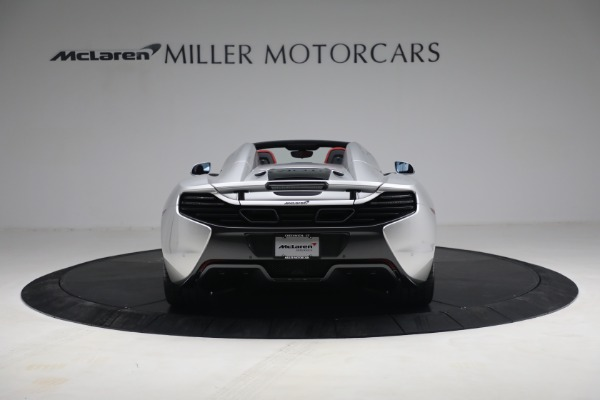Used 2015 McLaren 650S Spider for sale $179,990 at Bugatti of Greenwich in Greenwich CT 06830 5