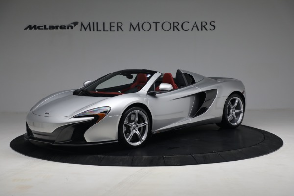 Used 2015 McLaren 650S Spider for sale $179,990 at Bugatti of Greenwich in Greenwich CT 06830 1