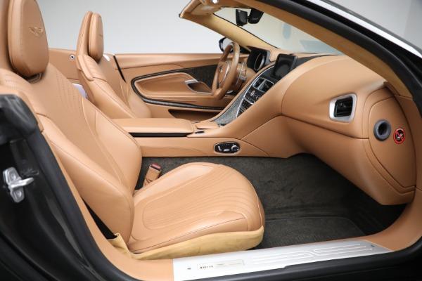 Used 2019 Aston Martin DB11 Volante for sale $212,990 at Bugatti of Greenwich in Greenwich CT 06830 25