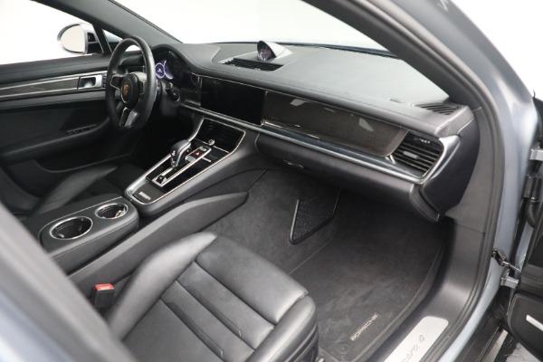 Used 2018 Porsche Panamera 4 Sport Turismo for sale $97,900 at Bugatti of Greenwich in Greenwich CT 06830 24