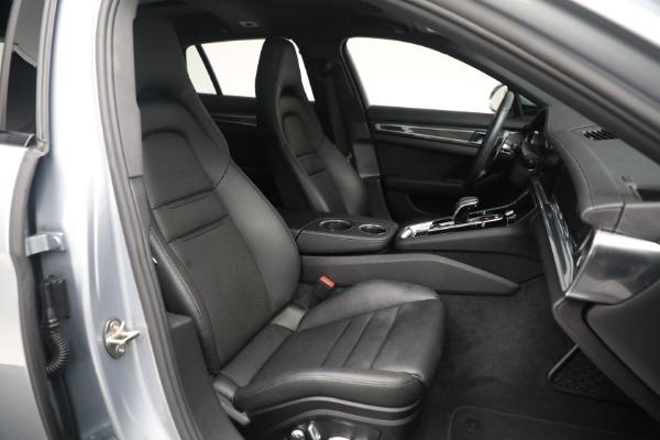 Used 2018 Porsche Panamera 4 Sport Turismo for sale $97,900 at Bugatti of Greenwich in Greenwich CT 06830 26