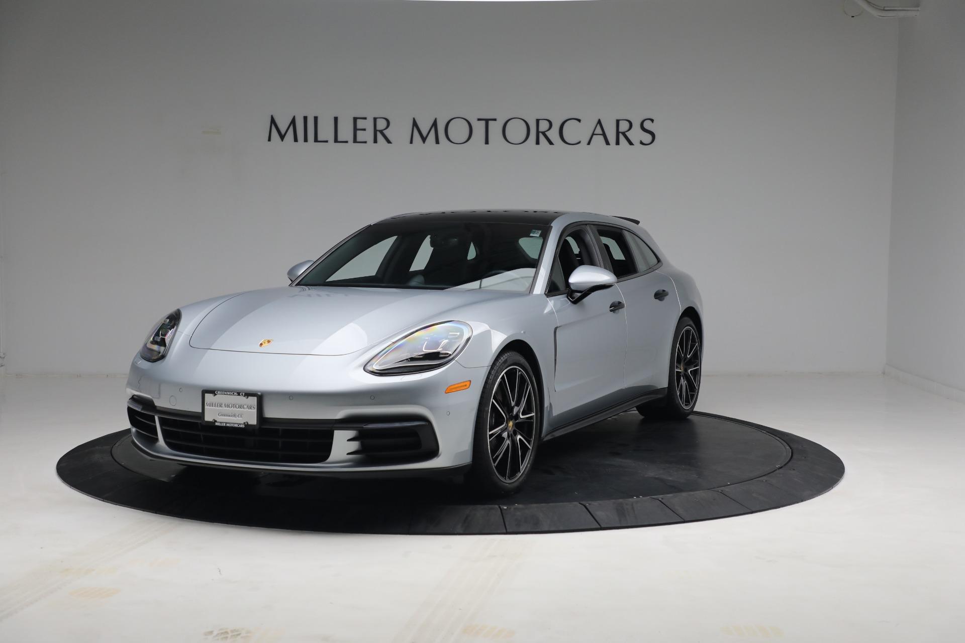 Used 2018 Porsche Panamera 4 Sport Turismo for sale $97,900 at Bugatti of Greenwich in Greenwich CT 06830 1
