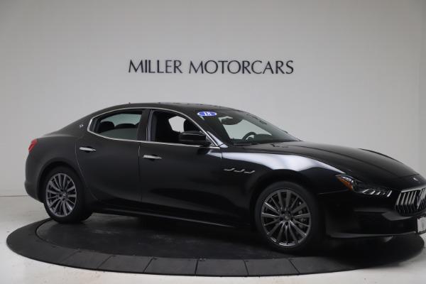 Used 2018 Maserati Ghibli SQ4 for sale $54,900 at Bugatti of Greenwich in Greenwich CT 06830 10