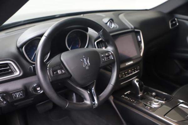 Used 2018 Maserati Ghibli SQ4 for sale $54,900 at Bugatti of Greenwich in Greenwich CT 06830 13