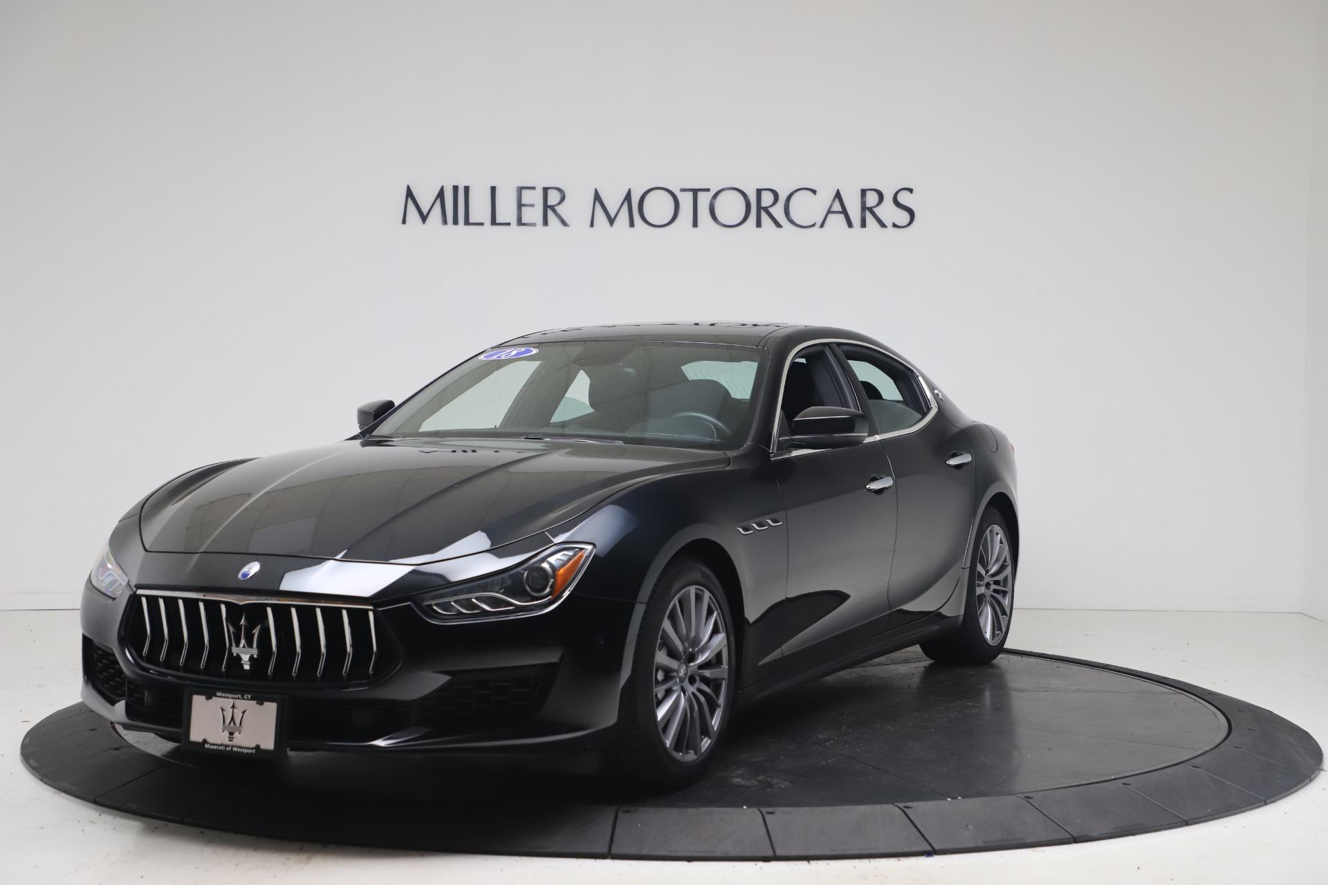 Used 2018 Maserati Ghibli SQ4 for sale $54,900 at Bugatti of Greenwich in Greenwich CT 06830 1