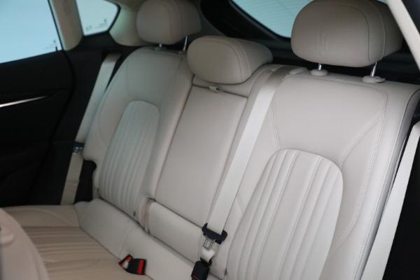 Used 2018 Maserati Levante for sale $57,900 at Bugatti of Greenwich in Greenwich CT 06830 18