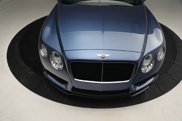 Used 2015 Bentley Continental GT V8 S for sale Call for price at Bugatti of Greenwich in Greenwich CT 06830 14
