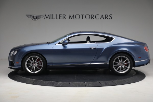 Used 2015 Bentley Continental GT V8 S for sale Call for price at Bugatti of Greenwich in Greenwich CT 06830 3
