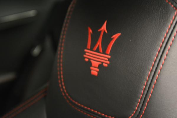 Used 2014 Maserati GranTurismo MC for sale Sold at Bugatti of Greenwich in Greenwich CT 06830 23