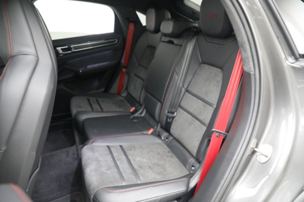 Used 2021 Porsche Cayenne GTS Coupe for sale Sold at Bugatti of Greenwich in Greenwich CT 06830 22