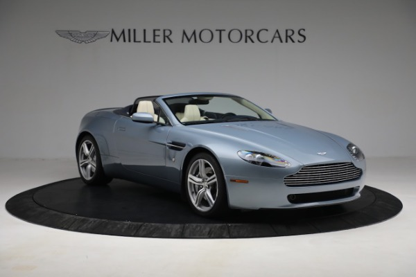 Used 2009 Aston Martin V8 Vantage Roadster for sale Call for price at Bugatti of Greenwich in Greenwich CT 06830 10