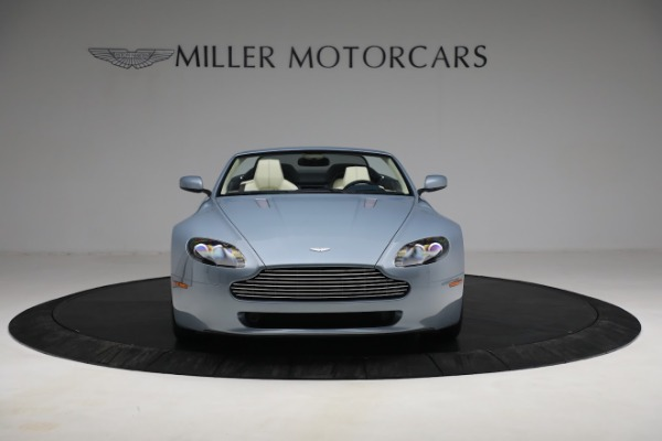Used 2009 Aston Martin V8 Vantage Roadster for sale Call for price at Bugatti of Greenwich in Greenwich CT 06830 11