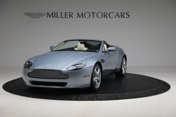 Used 2009 Aston Martin V8 Vantage Roadster for sale Call for price at Bugatti of Greenwich in Greenwich CT 06830 12