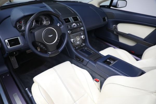 Used 2009 Aston Martin V8 Vantage Roadster for sale Call for price at Bugatti of Greenwich in Greenwich CT 06830 13