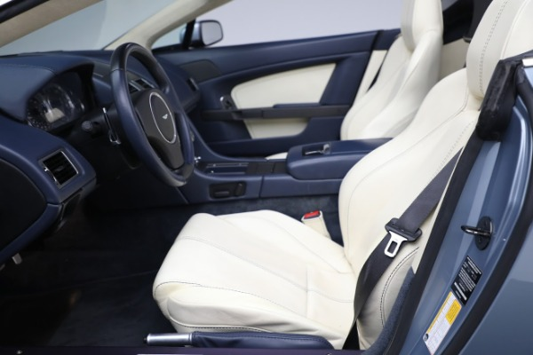 Used 2009 Aston Martin V8 Vantage Roadster for sale Call for price at Bugatti of Greenwich in Greenwich CT 06830 14