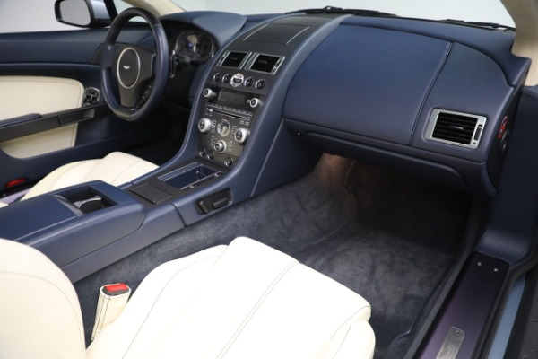 Used 2009 Aston Martin V8 Vantage Roadster for sale Call for price at Bugatti of Greenwich in Greenwich CT 06830 18