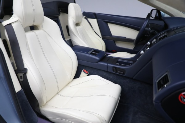 Used 2009 Aston Martin V8 Vantage Roadster for sale Call for price at Bugatti of Greenwich in Greenwich CT 06830 20