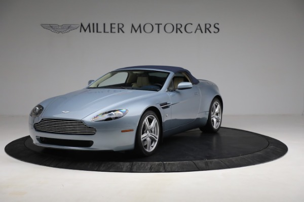 Used 2009 Aston Martin V8 Vantage Roadster for sale Call for price at Bugatti of Greenwich in Greenwich CT 06830 21