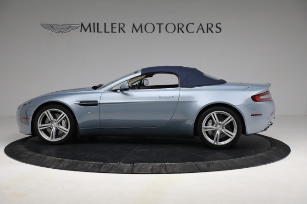 Used 2009 Aston Martin V8 Vantage Roadster for sale Call for price at Bugatti of Greenwich in Greenwich CT 06830 22
