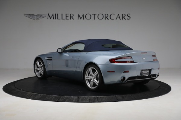 Used 2009 Aston Martin V8 Vantage Roadster for sale Call for price at Bugatti of Greenwich in Greenwich CT 06830 23