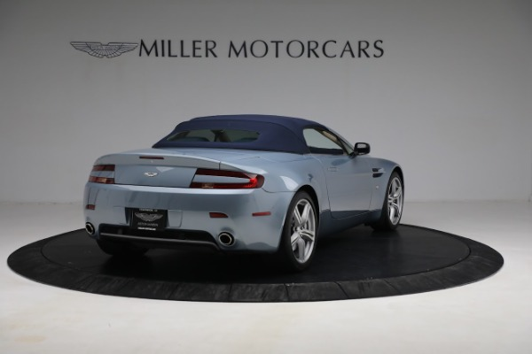 Used 2009 Aston Martin V8 Vantage Roadster for sale Call for price at Bugatti of Greenwich in Greenwich CT 06830 24