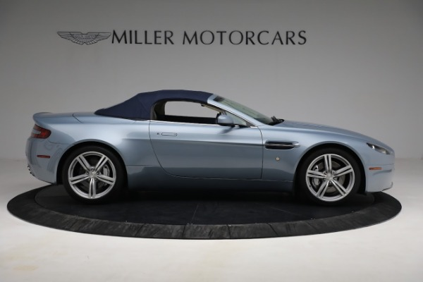 Used 2009 Aston Martin V8 Vantage Roadster for sale Call for price at Bugatti of Greenwich in Greenwich CT 06830 25